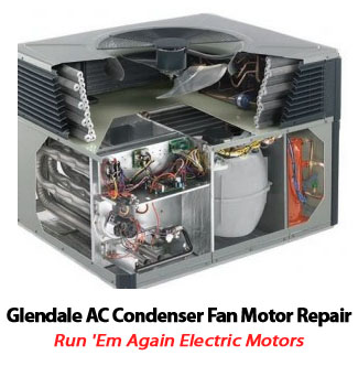 Ac condenser fan motor repair glendale peoria air for Air conditioner compressor motor