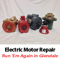Glendale Electric Motor Repair Replacement By Run 39 Em