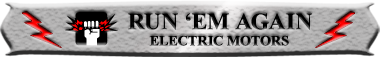 Run Em Again Motors Logo