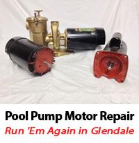 Swimming pool electric motor repair glendale peoria pool for Pool pump motors troubleshooting