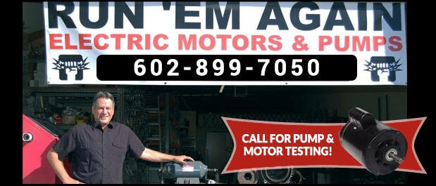 Run Em Again Electric Motors in Arizona