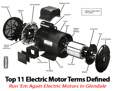 Top glendale electric motor terms defined run 39 em again for Biedler s electric motor repair